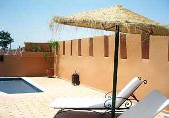 Piscina Riad Yacout